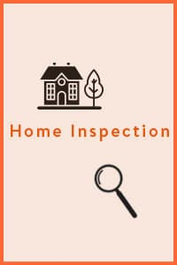 Home Inspection, during this phase a professional home inspector does a walk through and analysis on your potential home, and bring back any additional information.