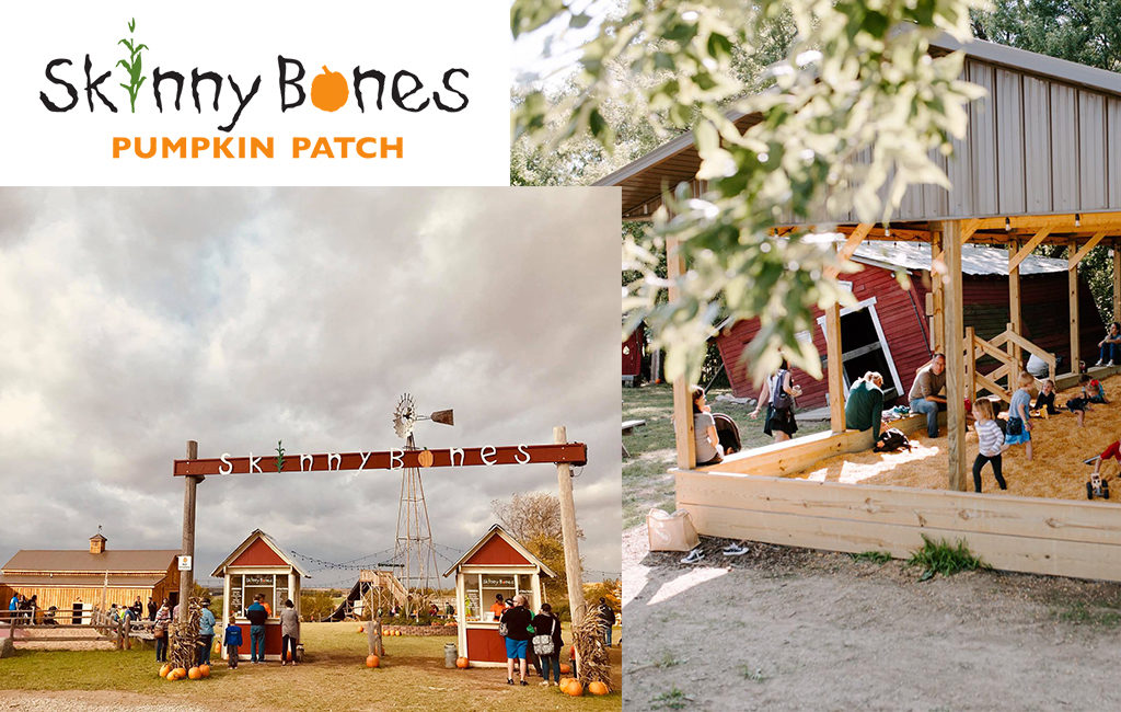 Skinny Bones Logo and image of their entrance